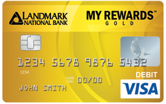 My Rewards™ Gold Debit Card