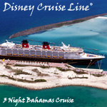 DISNEY CRUISE LINE<sup>®</sup> 3-Night Bahamas Cruise
