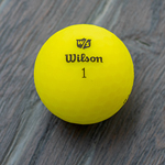 WILSON<sup>®</sup> DUO<sup>®</sup> Optix Yellow Golf Balls