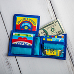MELISSA & DOUG<sup>®</sup> Pretend-to-Spend Wallet